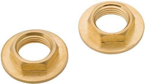 Deva DSPBBN101 1/2'' Basin Tap Brass Back Nuts (pair)